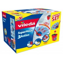 VILEDA Mop Supermocio Completo 3 Action Box 137579