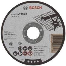 BOSCH Tarcza tnąca prosta Expert for Inox AS 46 T INOX BF, 115 mm, 1,6 mm 2608600215