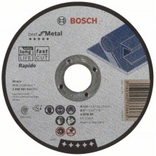 Bosch Tarcza tnąca prosta Best for Metal – Rapido 125x1 mm 2608603514