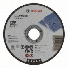 Bosch Tarcza tnąca prosta Best for Metal A 46 V BF, 125x1,5 mm, 1,5 mm 2608603518