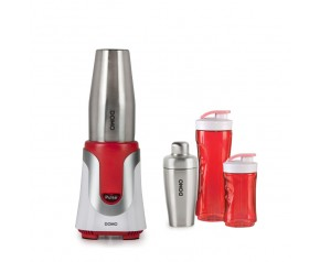 DOMO Smoothie Blender i shaker do koktajli 2 w 1 DO449BL