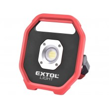 EXTOL LIGHT Reflektor halogenowy LED 1200lm na baterie 43260