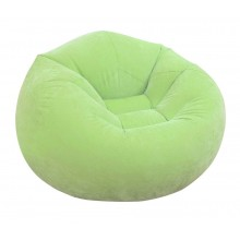 INTEX BEANLESS BAG CHAIR Dmuchany fotel 107 x 104 x 69 cm, zielony 68569