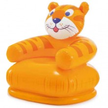 INTEX HAPPY ANIMAL CHAIR Dmuchane krzesło 66 x 64 x 66 cm, tygrys 68556