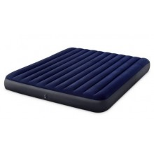 INTEX CLASSIC DOWNY AIRBED KING Materac nadmuchiwany 183 x 203 cm 64755