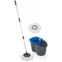 LEIFHEIT Clean Twist Mop Active z zapasową głowicą grey blue 55268