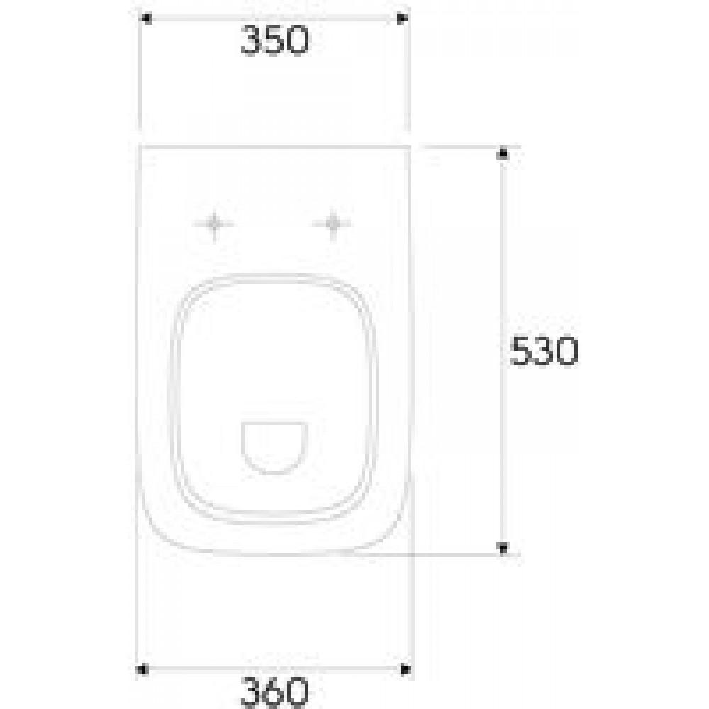 keramag renova nr 1 plan miska wc podwieszana z p k. Black Bedroom Furniture Sets. Home Design Ideas