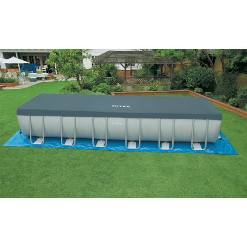 intex basen frame pool set ultra quadra 732 x 366 x 132 cm filtr kartuszowy 28366np. Black Bedroom Furniture Sets. Home Design Ideas