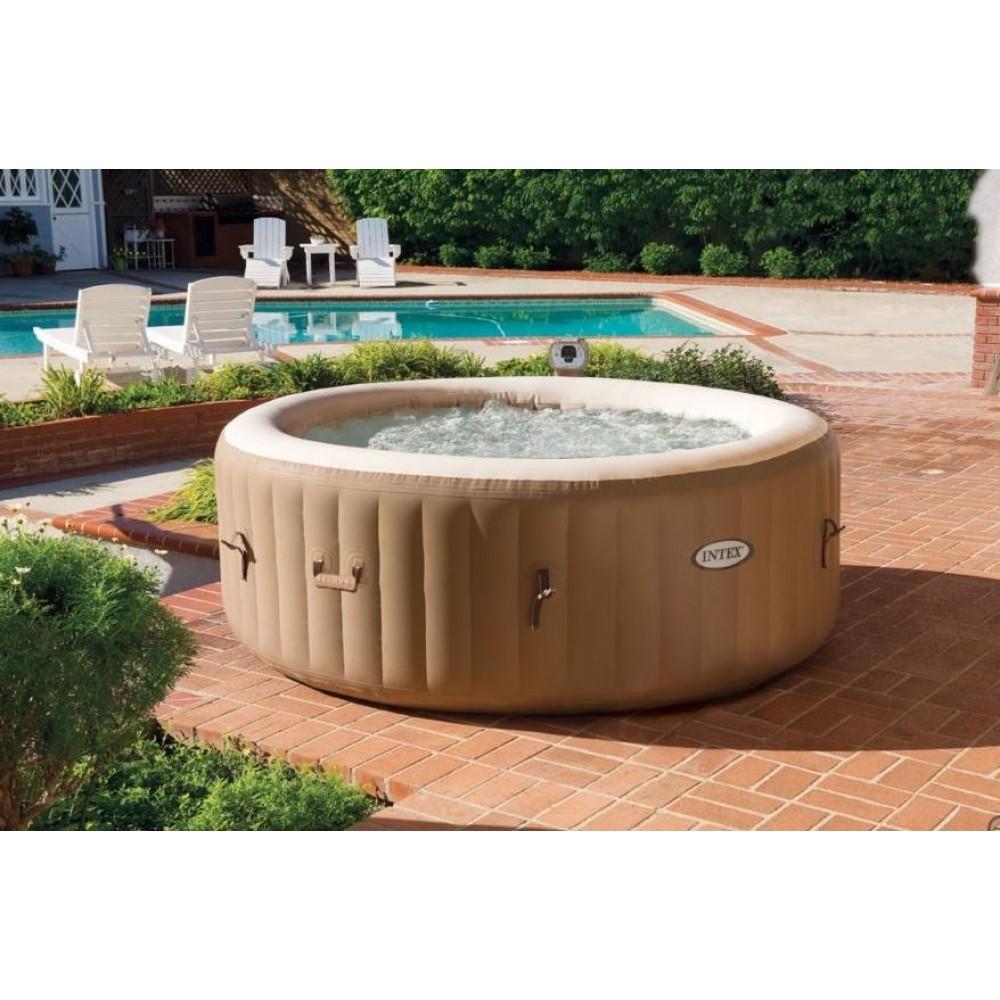 intex dmuchany basen pure spa 1 91 x 0 71 m z ogrzewaniem 28404. Black Bedroom Furniture Sets. Home Design Ideas