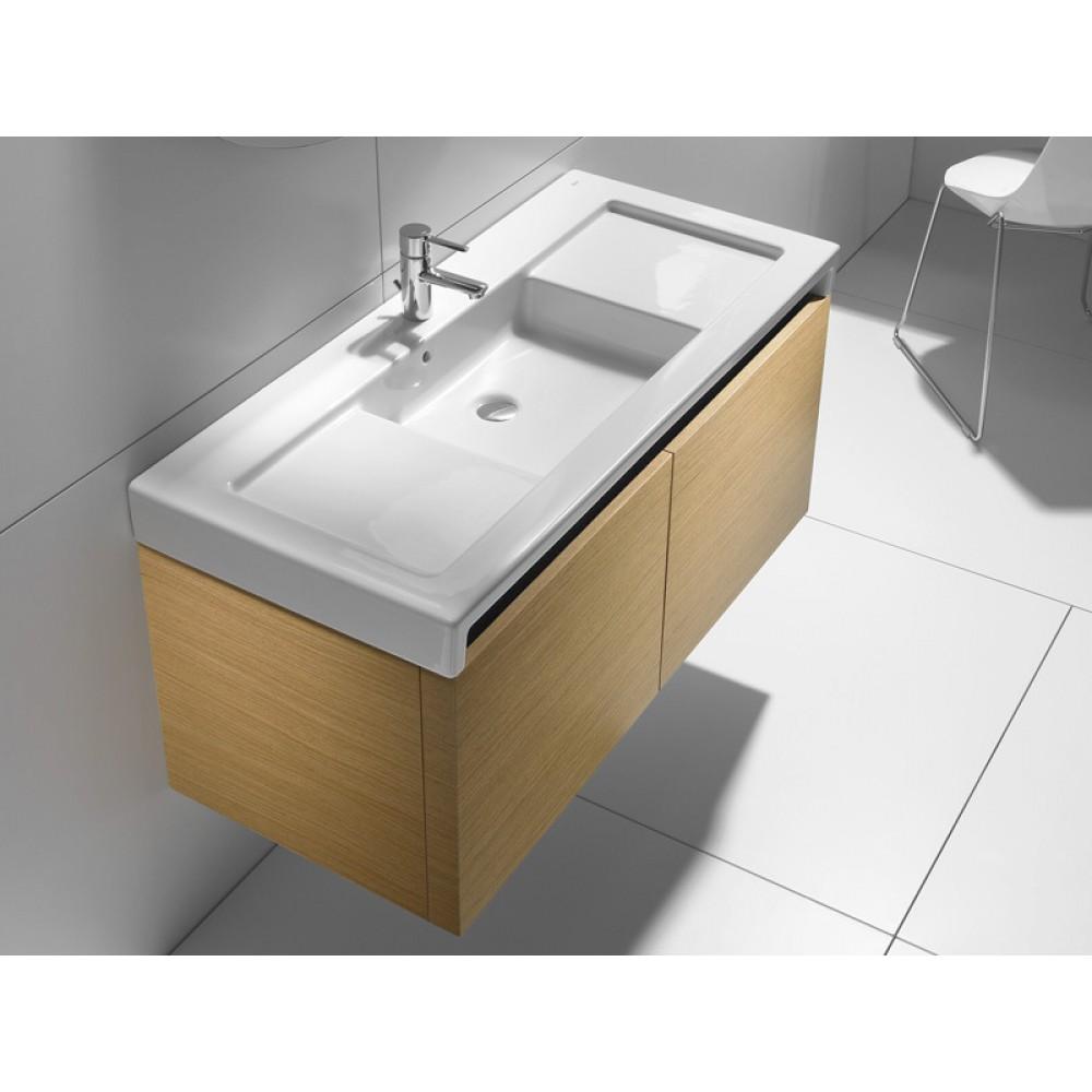 roca stratum umywalka podw jna 130 x 50 cm z blatem. Black Bedroom Furniture Sets. Home Design Ideas