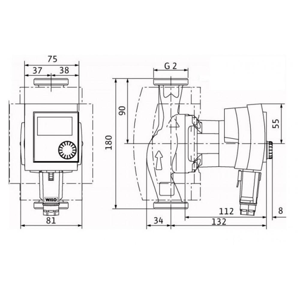 wilo stratos pico 30 1 6 pompa obiegowa 4132465. Black Bedroom Furniture Sets. Home Design Ideas